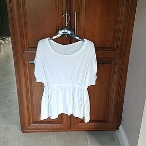 EUC cinch waist tunic